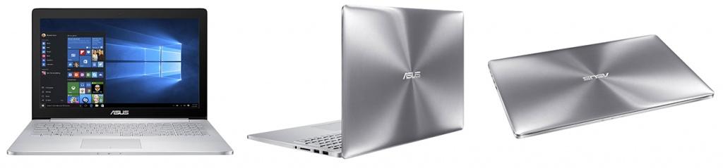 Великолепный дизайн ASUS Zenbook UX501