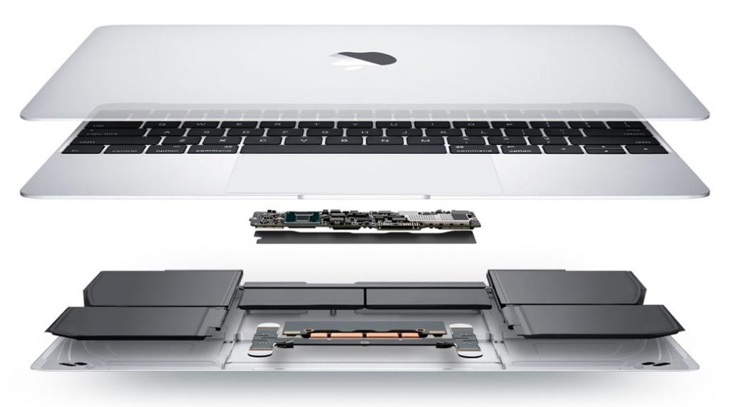 Мощная компактная начинка MacBook