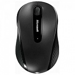 Мышь Microsoft 4000 Wireless Mobile Mouse USB Black D5D-00133, RTL