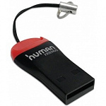USB 2.0 Card reader CBR Human Friends Speed Rate Beat. Поддержка карт: MicroSD, T-Flash, Beat