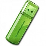 Silicon Power USB Drive 16Gb Helios 101 SP016GBUF2101V1N USB2.0, Green