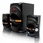 Dialog Progressive AP-210B BLACK 2.1, 30W+2*15W RMS, Bluetooth, USB+SD reader