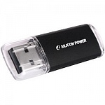 Silicon Power USB Drive 16Gb Ultima II SP016GBUF2M01V1K USB2.0, Black
