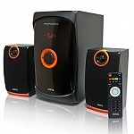 Dialog Progressive AP-200 BLACK 2.1, 30W+2*15W RMS, USB+SD reader
