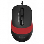 A-4Tech Мышь Fstyler FM10 black/red optical 1600dpi USB 4but 1200652