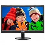 "LCD PHILIPS 18.5"" 193V5LSB2 10/62 черный TN LED, 1366x768, 5ms, 250cd/m2, 1 000:1, 700:1, 90/65, D-Sub"