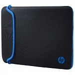 "HP V5C27AA Чехол 14"" Blk/Blue Chroma Sleeve"