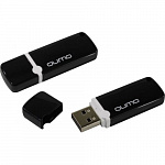 USB 2.0 QUMO 16GB Optiva 02 Black QM16GUD-OP2-black