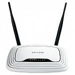TP-Link TL-WR841N 300Mbps Маршрутизатор 4x 10/100Mbps, 1WAN, 802.11b/g/n, 300Mbps, 2x5dB