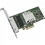 INTEL E1G44HTBLK I340-T4 PCI Express, 4-Ports, 10/100/1000Base-T, 1000Mbps, Gigabit Ethernet