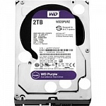 2TB WD Purple WD20PURZ Serial ATA III, 5400- rpm, 64Mb, 3.5""
