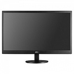 "LCD AOC 19.5"" E2070SWN черный TN LED, 1600x900, 5 ms, 90°/60°, 200 cd/m, 20M:1 D-Sub"