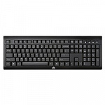 HP K2500 E5E78AA Wireless Keyboard USB black