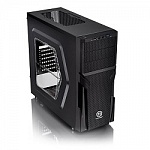 Case Tt Versa H22 Midi Tower Black, USB3.0, Window, w/o PSU CA-1B3-00M1WN-00