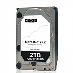 "2Tb Hitachi Ultrastar 7K2 HUS722T2TALA604 SATA 6Gb/s, 7200 rpm, 128mb buffer, 3.5"" 1W10002"