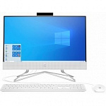 "HP 24-df0033ur 14Q04EA white 23.8"" FHD Pen J5040/4Gb/256Gb SSD/VGA int/W10"