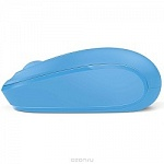 Microsoft Wireless Mbl Mouse 1850 Cyan Blue U7Z-00058