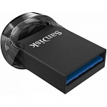 SanDisk USB Drive 32Gb Ultra Fit SDCZ430-032G-G46 USB3.0, Black