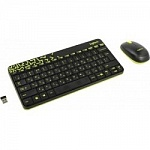920-008213 Logitech Wireless Combo MK 240 Nano Black-yellow