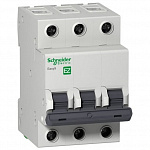 Schneider-electric EZ9F34325 АВТ. ВЫКЛ. EASY 9 3П 25А С 4,5кА 400В =S=