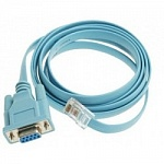 CAB-CONSOLE-RJ45= Console Cable 6ft with RJ45 and DB9F