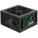 Aerocool 600W RTL KCAS-600PLUS 80+ bronze 24+4+4pin APFC 120mm fan 7xSATA RTL