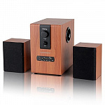 Dialog Progressive AP-150 BROWN - колонки 2.1, 10W+2*5W RMS, USB+SD reader