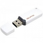 USB 2.0 QUMO 16GB Optiva 02 White QM16GUD-OP2-white