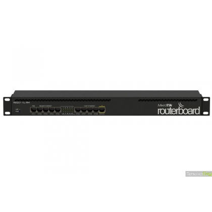 MikroTik RB2011iL-RM RouterBOARD 2011iL-RM with 1U rackmount case and power supply
